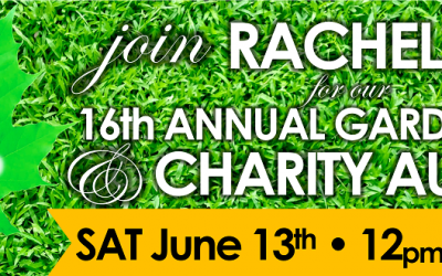 16TH ANNUAL GARDEN PARTY & CHARITY AUCTION